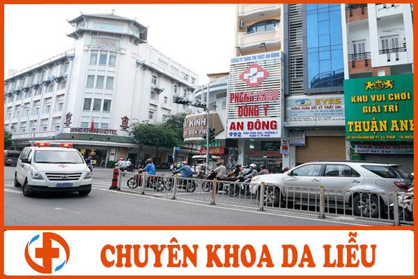 khoa da lieu phong kham dong y an dong