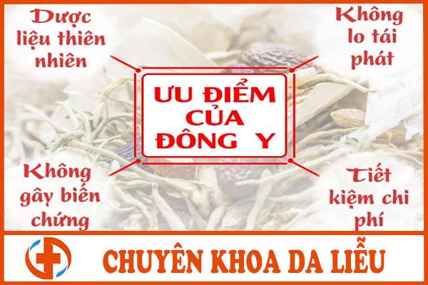 chua benh vay nen bang dong y co khoi khong